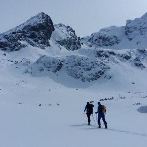 na nartach w góry