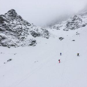niżne rysy na nartach