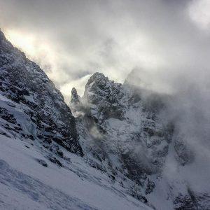 niżne rysy na skitourach