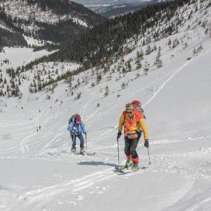 wycieczki skitourowe dla początkujących