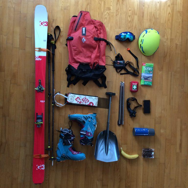 co spakować na skitoury